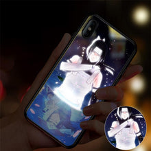 Load image into Gallery viewer, 【Tempered Glass】Naruto Ultra-thin Shine Phone Case