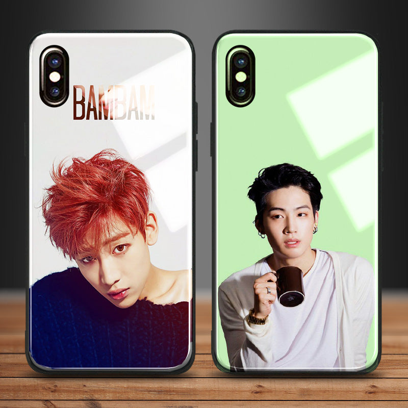 【Tempered Glass】Got7 BamBam & JB Phone Case