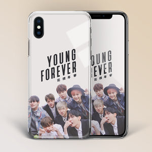 【Tempered Glass】BTS Young Forever Theme v1 Phone Case