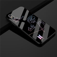 Load image into Gallery viewer, 【Tempered Glass】BTS Love Yourself Signature Phone Case