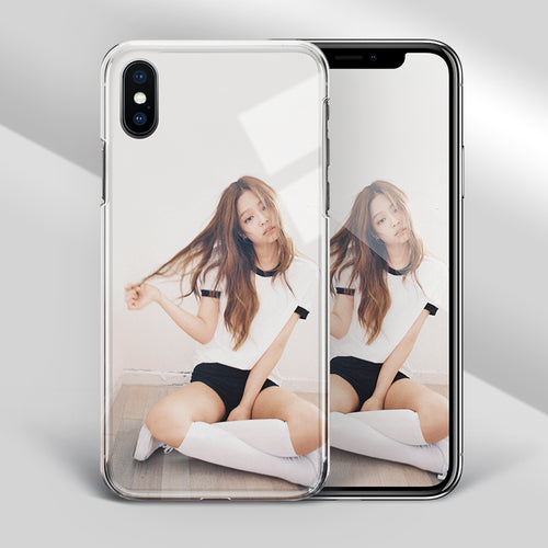 【Tempered Glass】BLACKPINK Jennie V2 Phone Case