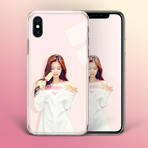 【Tempered Glass】BLACKPINK Jennie V3 Phone Case