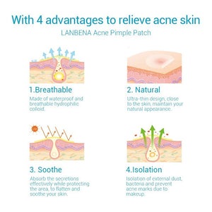 Acne Removal Patch (Tree Oil, Calendula Oil)