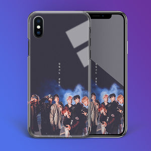 【Tempered Glass】BTS Mic Drop Phone Case