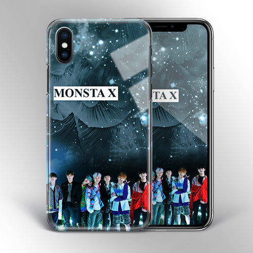 【Tempered Glass】Monsta X Theme v2 Phone Case