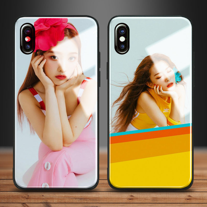 【Tempered Glass】RED VELVET JOY & SEULGI Phone Case