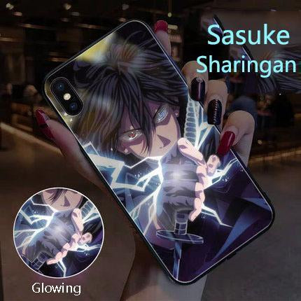【Tempered Glass】Naruto Ultra-thin Shine Phone Case