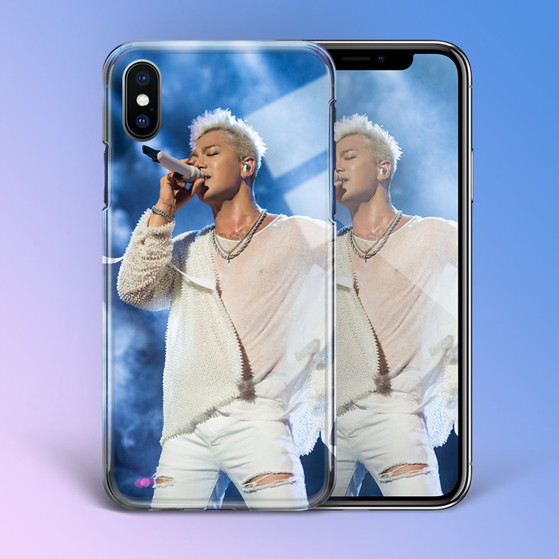 【Tempered Glass】Big Bang Taeyang White Night Phone Case