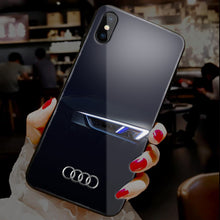 Load image into Gallery viewer, 【Tempered Glass】Car Brands Ultra-thin Shine Phone Case