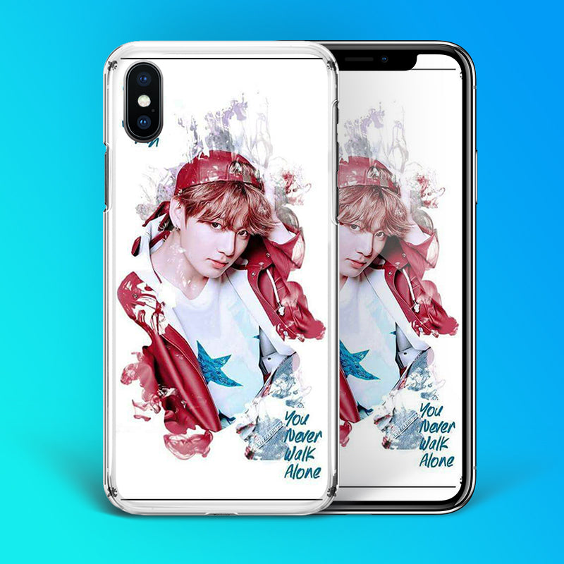 【Tempered Glass】BTS Jungkook Artistic Theme Phone Case