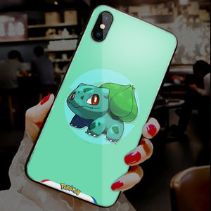【Tempered Glass】Pokemon Ultra-thin Shine Phone Case