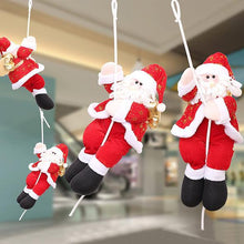 Load image into Gallery viewer, Santa Claus Climbs The Rope