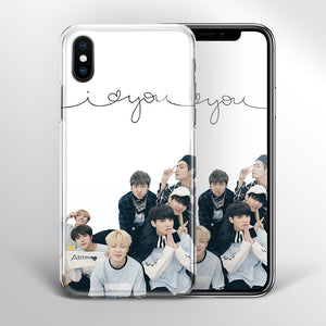 【Tempered Glass】BTS I Love You Theme v2 Phone Case
