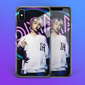 【Tempered Glass】BTS Jimin DNA Theme Phone Case