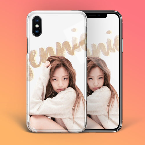 【Tempered Glass】BLACKPINK Jennie V5 Phone Case