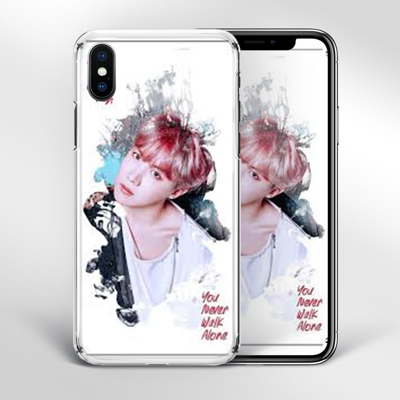 【Tempered Glass】BTS J-Hope Artistic Phone Case