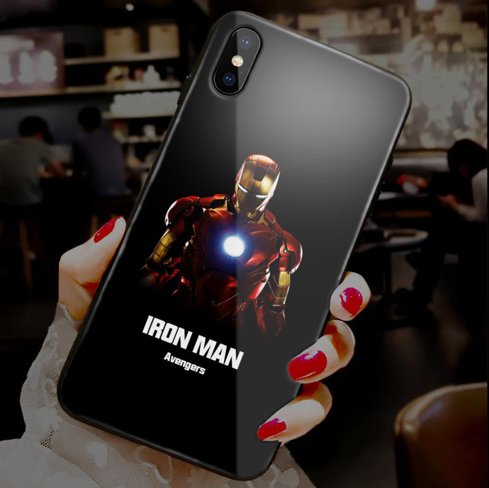 【Tempered Glass】SuperHero Ultra-thin Shine Phone Case