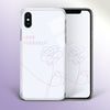 【Tempered Glass】BTS Love Yourself White Phone Case