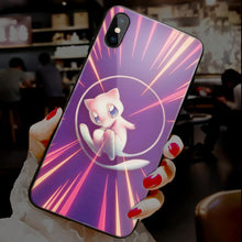 Load image into Gallery viewer, 【Tempered Glass】Pokemon Rare Ultra-thin Shine Phone Case