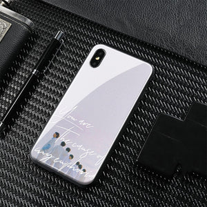 【Tempered Glass】BTS Euphoria Theme Phone Case
