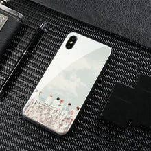 Load image into Gallery viewer, 【Tempered Glass】BTS Spring Day Theme Phone Case