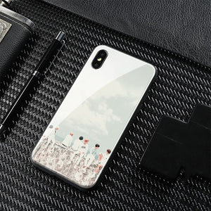 【Tempered Glass】BTS Spring Day Theme Phone Case