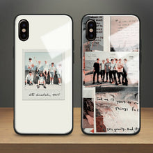 Load image into Gallery viewer, 【Tempered Glass】BTS Instax Photo Phone Case