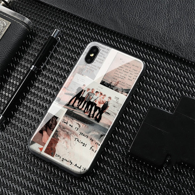 【Tempered Glass】BTS Instax Photo Phone Case