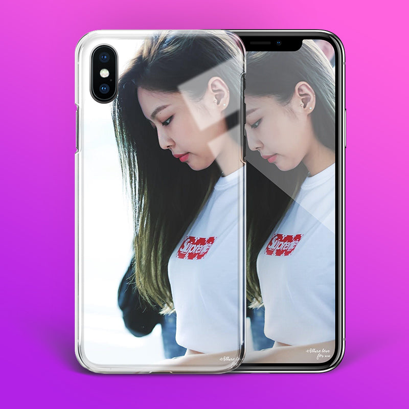 【Tempered Glass】BLACKPINK Jennie V4 Phone Case