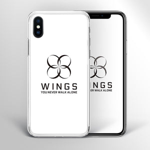 【Tempered Glass】BTS Wings Theme v2 Phone Case
