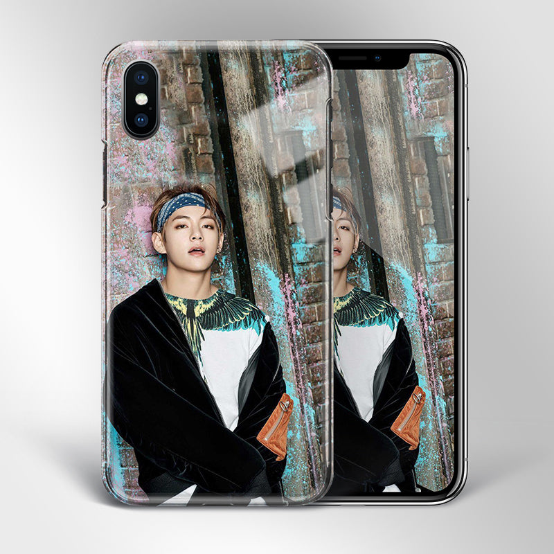 【Tempered Glass】BTS V Theme v1 Phone Case