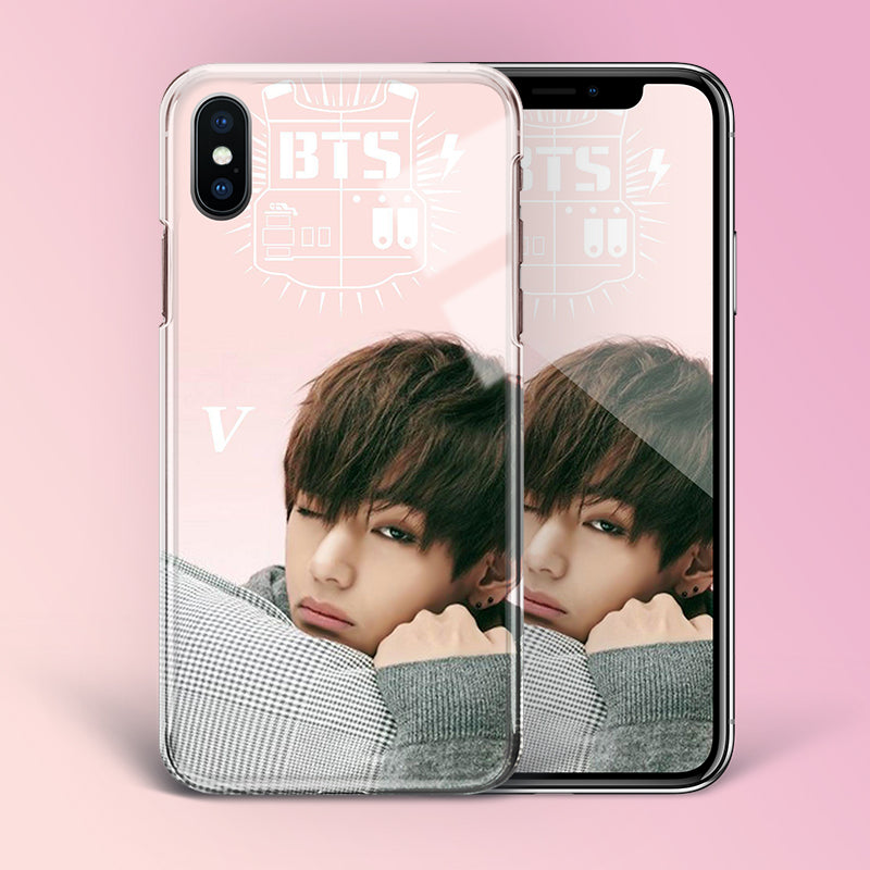 【Tempered Glass】BTS V Theme v2 Phone Case