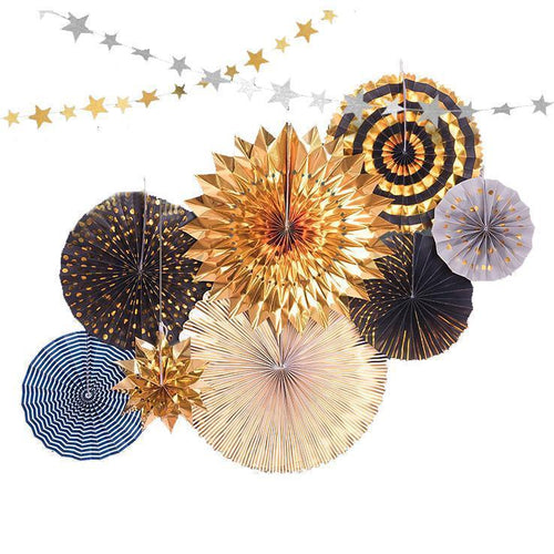 After Dark Pinwheels Set of 8 - LYB Concepts