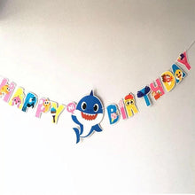 Load image into Gallery viewer, Baby Shark Birthday Bunting - LYB Concepts