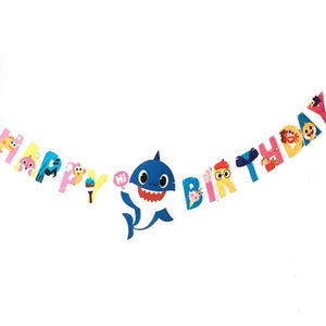Baby Shark Birthday Bunting - LYB Concepts