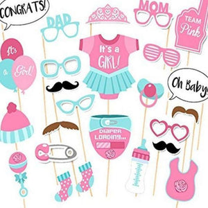 Baby Shower Photobooth Props - LYB Concepts