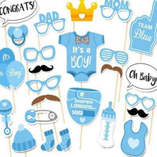 Load image into Gallery viewer, Baby Shower Photobooth Props - LYB Concepts