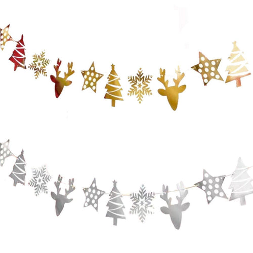 Christmas Themed Decorative Buntings - LYB Concepts