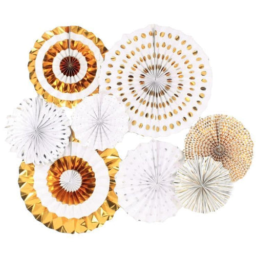 Gold Pinwheel Set of 8 - LYB Concepts