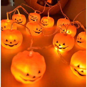 Halloween Pumpkin String Lights - LYB Concepts