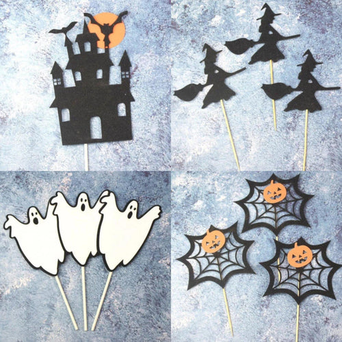 Halloween Set of 15pc Food Toppers - LYB Concepts