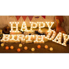 Load image into Gallery viewer, Happy Birthday Marquee Light Rental - LYB Concepts