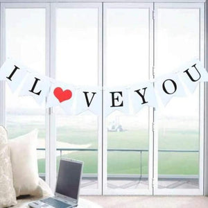 I Love You Bunting Rental - LYB Concepts