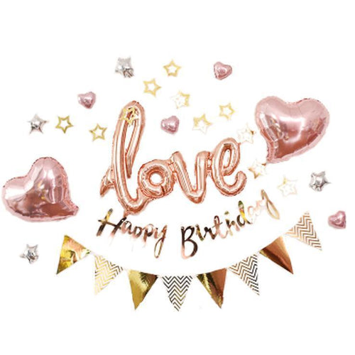 Love & Hearts Birthday Set - LYB Concepts