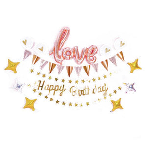 Love & Stars Birthday Set - LYB Concepts