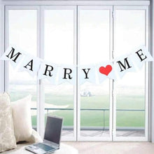 Load image into Gallery viewer, Marry Me Bunting Rental - LYB Concepts
