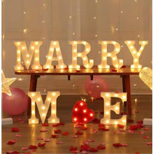 Load image into Gallery viewer, Marry Me Marquee Lights Rental - LYB Concepts