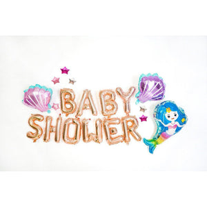 Mermaid Baby Shower Set - LYB Concepts