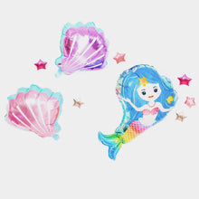 Load image into Gallery viewer, Mermaid foil balloon set - LYB Concepts