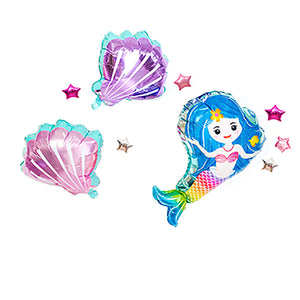 Mermaid foil balloon set - LYB Concepts